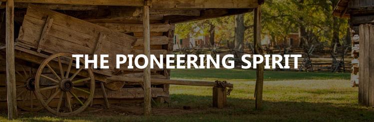 Pioneering spirit title image