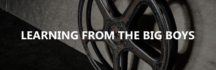 Film reel blog title image