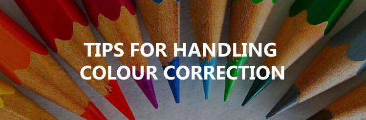 Handling colour correction