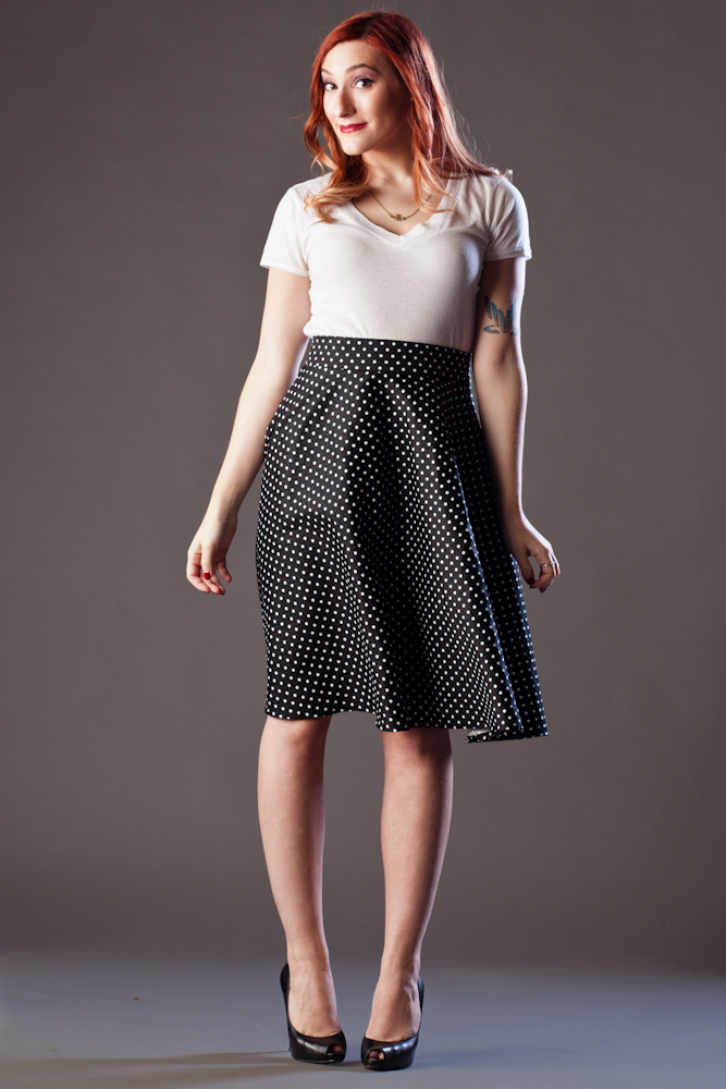 Beatrice Skirt $114, cotton sateen option (skirt only)