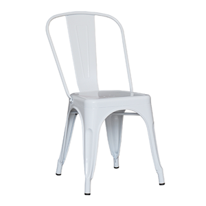 silla antique blanca