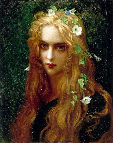 Ophelia by Ernest Hebert