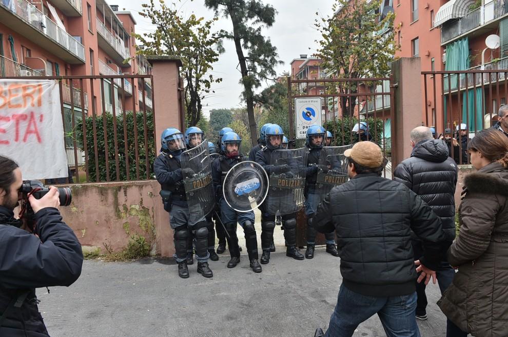 Milano, Giambellino, 25 novembre 2014