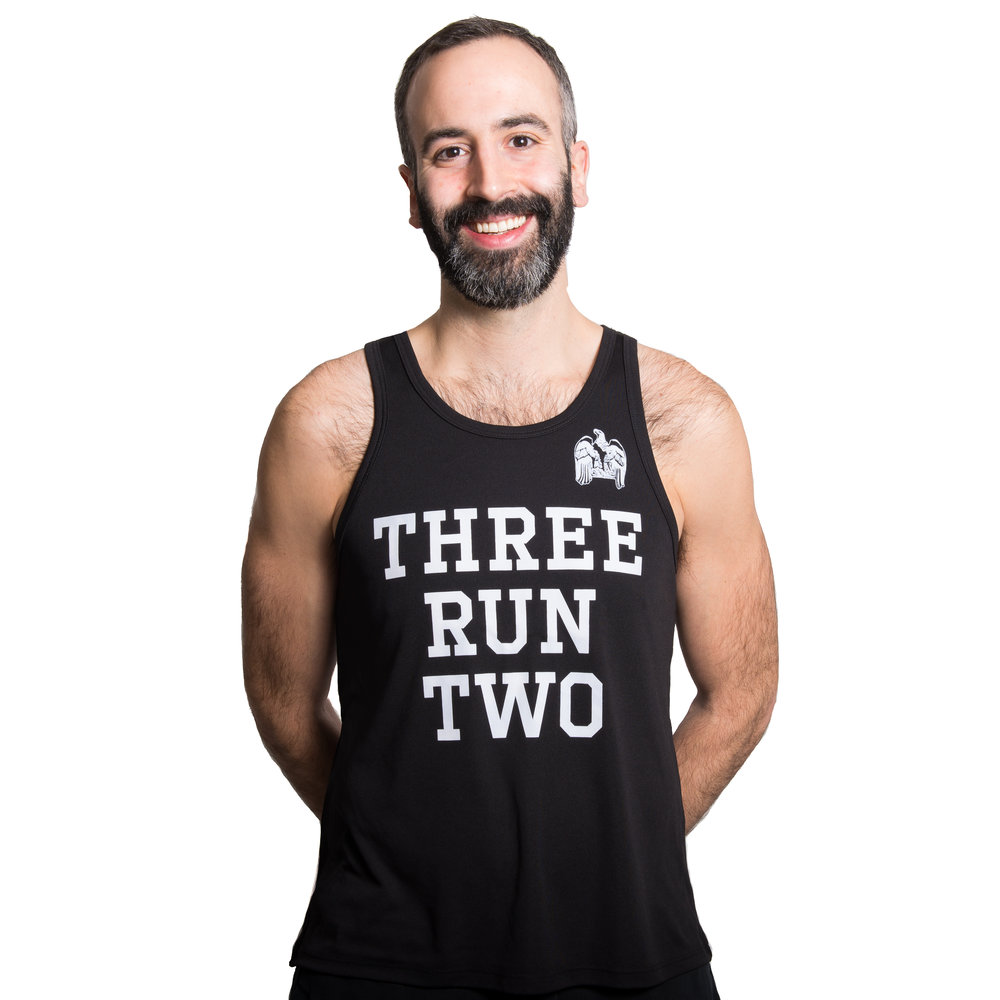 Jimmy    Schwartz - Age: 33Current Marathon PR: 2:57:502018 Goal Race & Time: Berlin Marathon, sub 2:50How did you get into running? I never would have called myself a runner in high school or college, I still remember protesting the 3 mile run we had to do for gym class in senior year. When I started working full time, I began jogging a few days a week just for exercise, mainly because it was the only type of exercise that I didn't hate. At the time, I never could have imagined running 5 miles. As I got older, I started to run more frequently, increasing from 3 to 7 miles a day. One day, I went out on a whim and ended up running a half-marathon. At the time, it was so out of my comfort zone, I couldn't believe I did it. I got the running bug, but didn't know how to train properly which leads into...How did you become involved with 3RUN2? My first run with 3RUN2 was in Oct. 2016. I live right near the meet up spot for the Tues. AM group and my friend sent me a link to the website and suggested I check them out. I didn't end up going to the morning run that week, but checked out the Thursday night run instead. I had never run with a group before, and was such a noob that I remember thinking it was funny when we'd come to a stoplight and hear all of the watches beep. I kept up with the people towards the front of the pack (who I later learned were taking it easy that day) but loaded the run to Strava and got a few kudos from people I did not recognize. I went and checked out their profiles and was just blown away by the amount of running they did. I started to understand what it was to train, to run at recovery pace, to do workouts, etc. I was hooked. I started upping my weekly mileage and going on long runs consistently. As I started to come to the group runs more and more throughout the spring, I became friends with the crew, and they convinced me to sign up for my first marathon in the spring. I had planned for Chicago to be my first but I figured why not. I bonked big time at the end but still turned in a respectable time. As much as it hurt, I couldn't wait to start training for Chicago, and had the carrot of this racing team to motivate me. Now, I consider 3RUN2 to be one of the most important parts of my life. I've met so many great people and made a ton of new friends. Looking forward to many more miles and races with this group!
