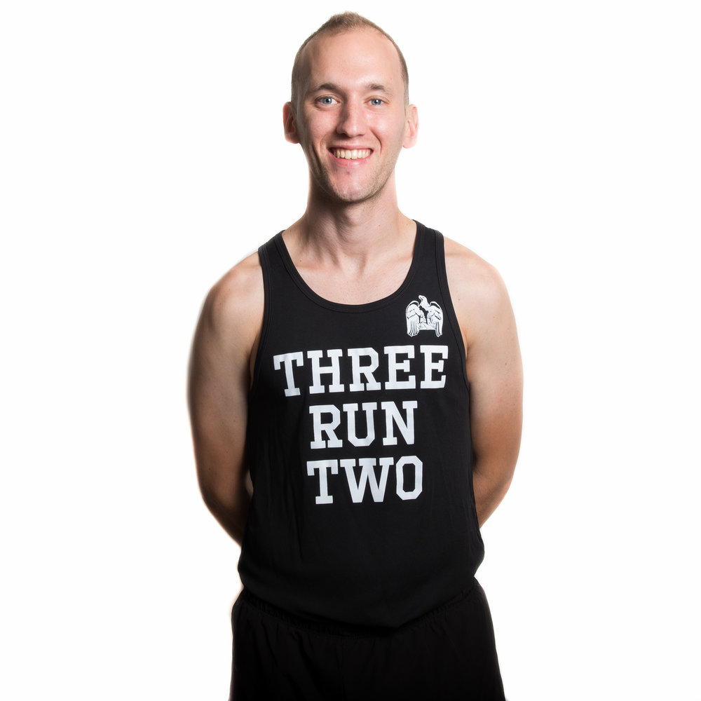 "Max Frankel - Age: 29Current Marathon PR: 2:43:252018 Goal Race & Time: Sub 2:40How did you get into running? Back when I was in 5th grade all I ever wanted to be was a professional basketball player for the Sixers. So, everyday I shot baskets for two hours and challenged my big sis, Mia, to some one-on-one. Mia set the rules back then, and restricted the speed of play to ""medium"". I lost nearly every time. That year in gym class we ran the mile and there was something inside of me that wanted to go ""all out"". Perhaps this impulse came from years of being speed repressed during one-on-one with my sister, but that year I set the school record for the mile and realized I was never going to be ""the answer"" to Allen Iverson's retirement, but I knew running was for me. How did you become involved with 3RUN2? I tend to think of myself as a lone runner, but then I adopted my dog Champ and I knew he was now part of my running pack. So there were two—so there was two of us in a running pack. Then I looked for other running groups in Chicago however none would allow dogs. And then I saw these group of runners in Logan Square killing segments on strava. The group welcomed Champ and I in whole heartedly to their Thursday night runs. And I thought wait a second, could it be? And now I know for sure. I just added a whole running community to our running pack, a 3RUN2 running pack."