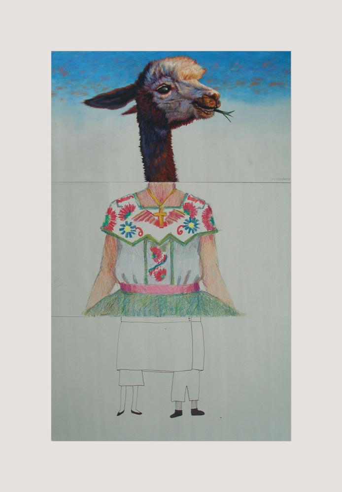 CORPSE 12: SV Medaris, Mary Ulm Mayhew, and Kim Caisse $800 mixed media on paper