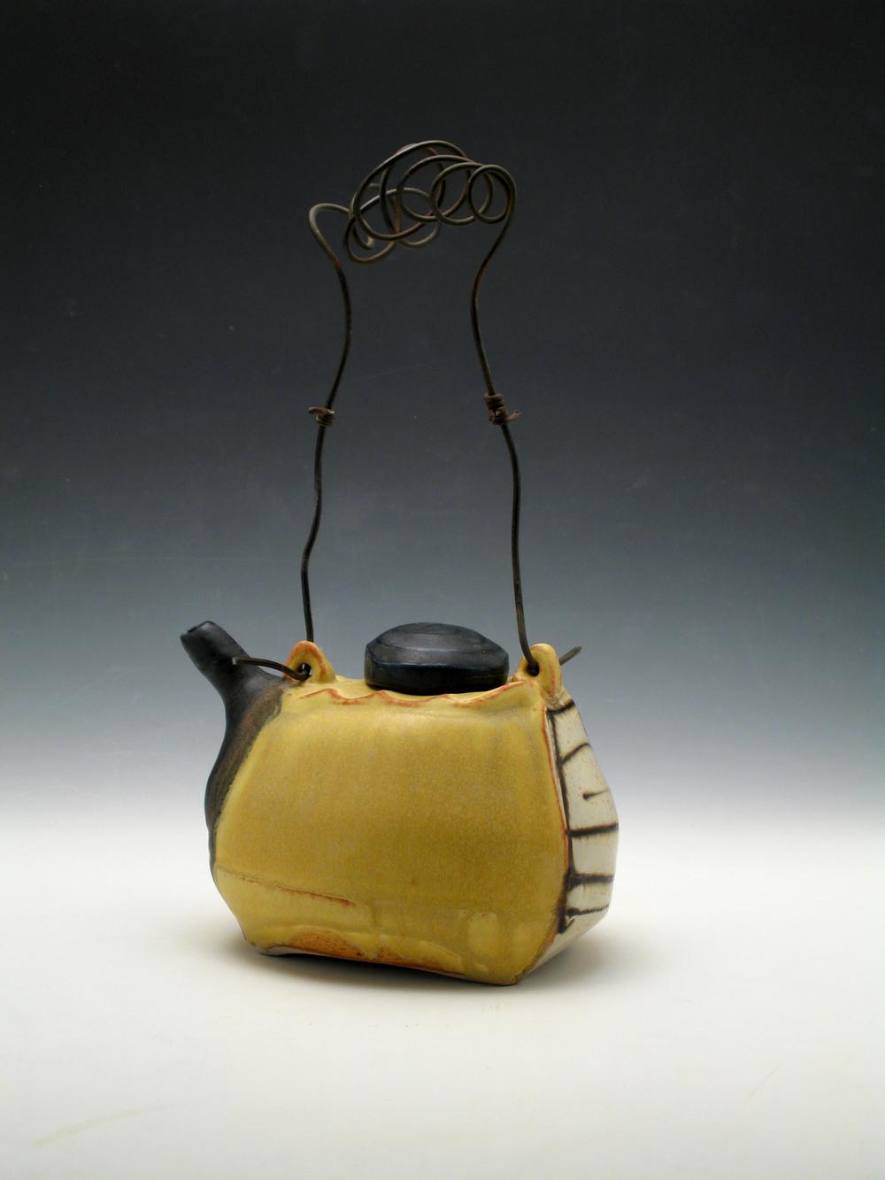 Yellow Teapot  ceramic