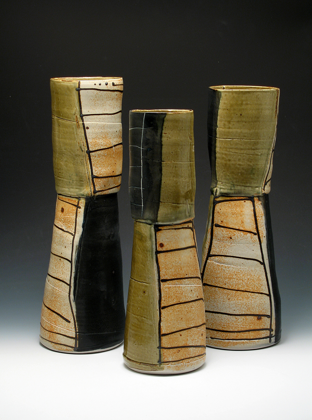 Ladder Vases  ceramic