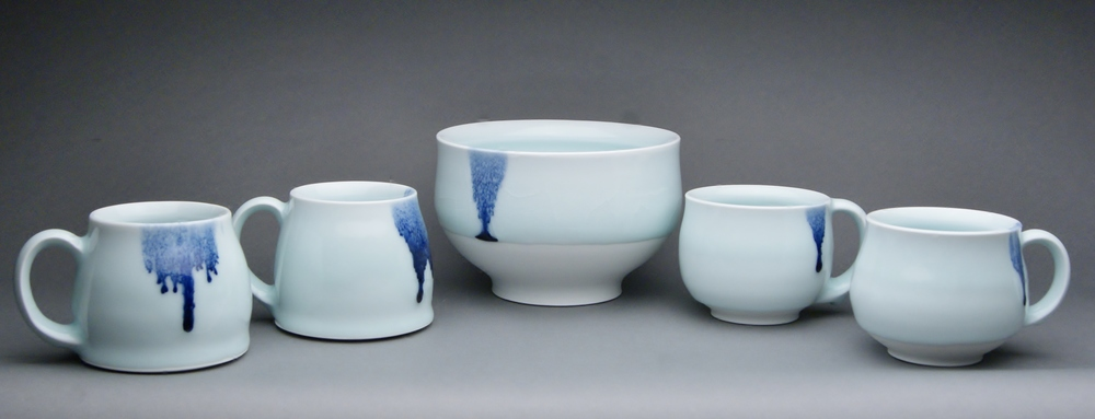 Bowls SOLD, Mugs SOLD  ceramic