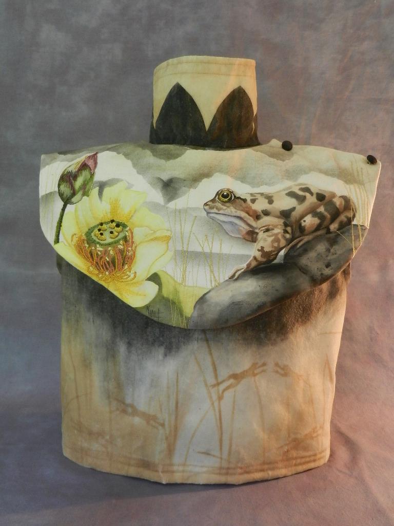 Frog Collar & Torso $1,800 textile 16 x 7 x 11