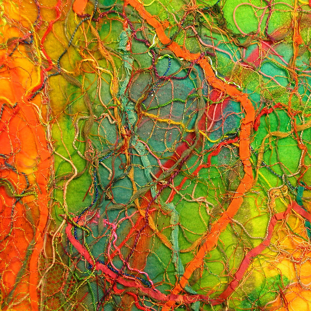 Inside Out (detail) fiber