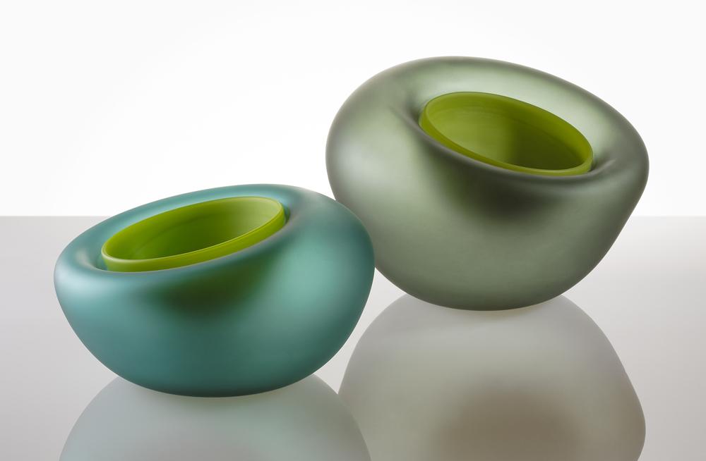 Bubble bowls $300 glass