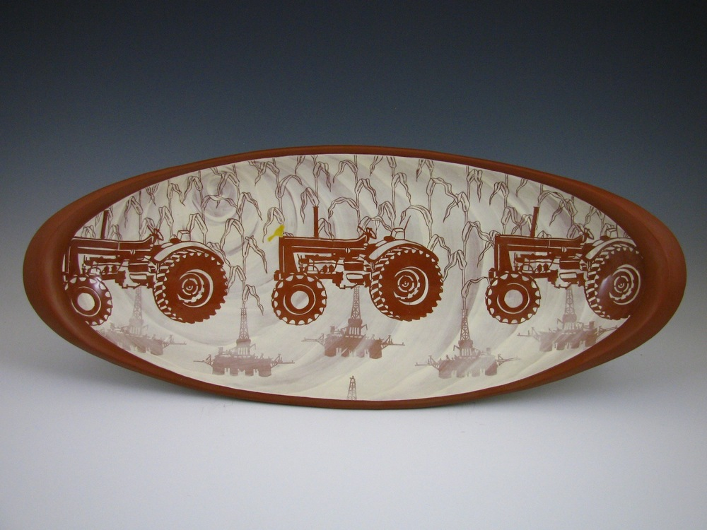 Platter $425 ceramic