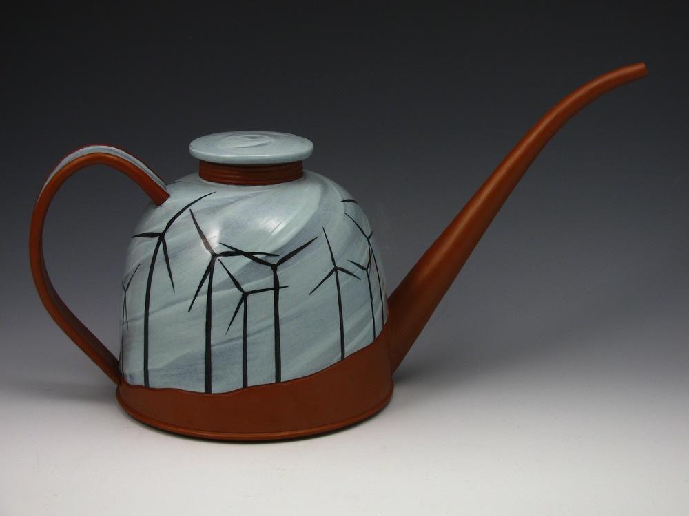 Oil Can SOLD ceramic