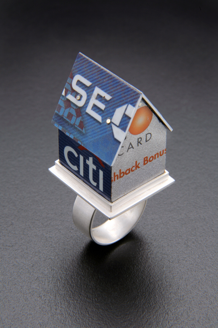 House of Cards SOLD sterling silver, credit card