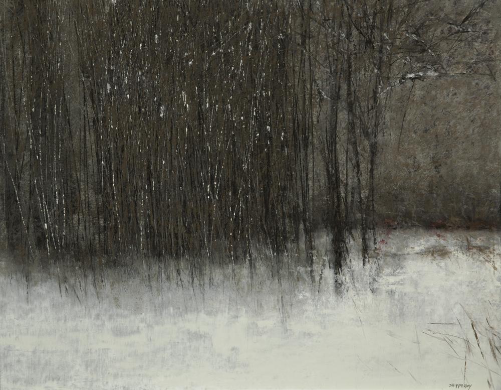 Winter Solace $2,200 oil pastel 28 x 33