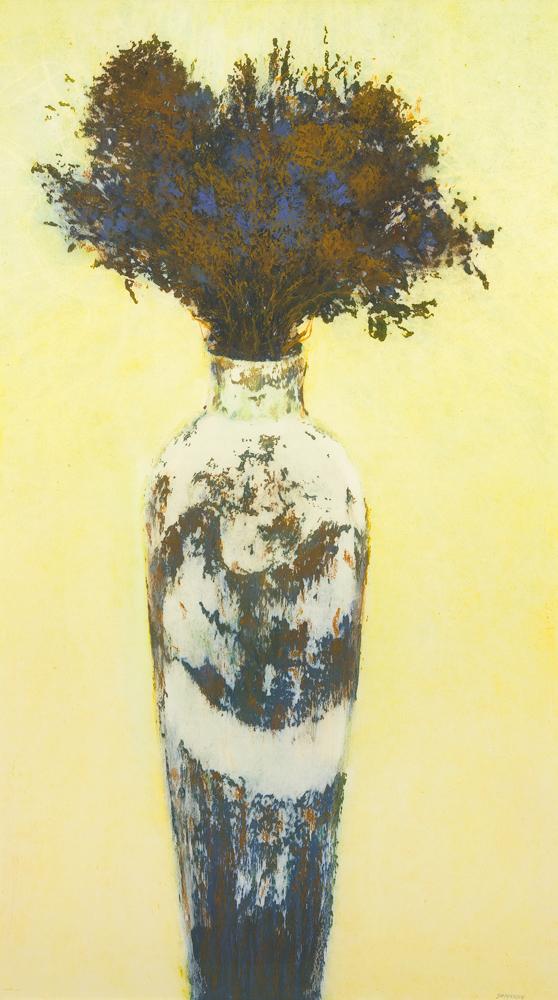 Elegance SOLD oil pastel 42x29