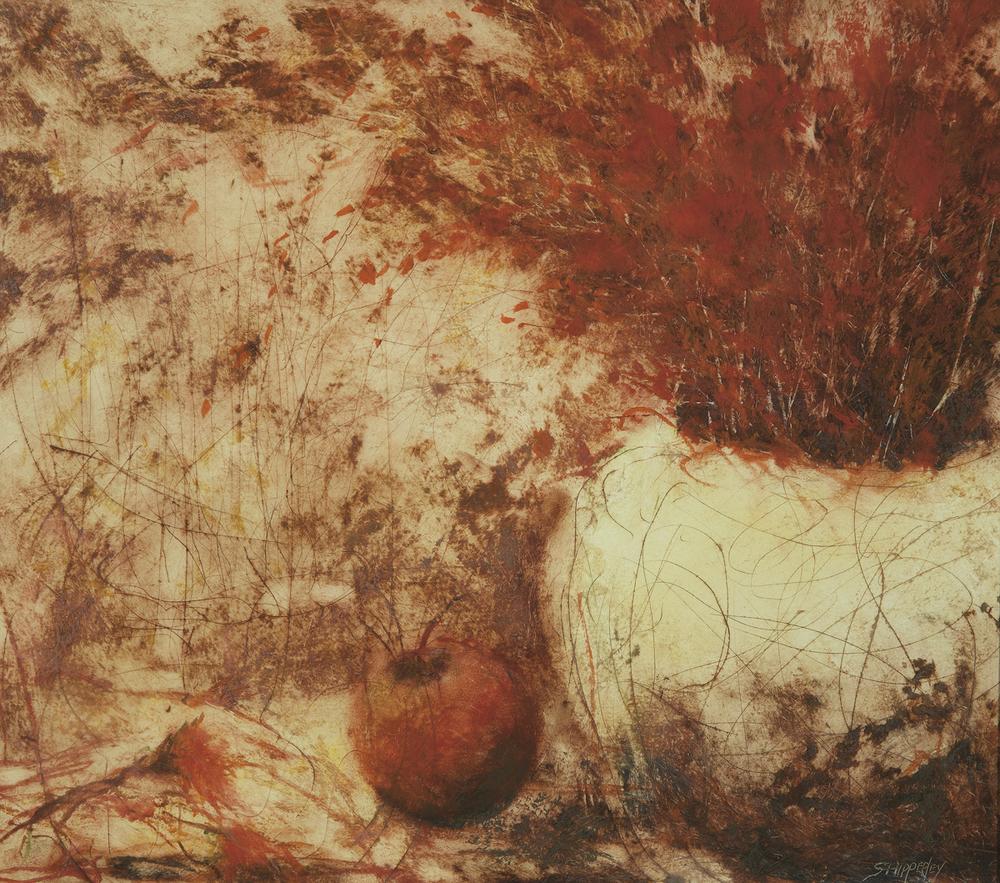 Reds oil pastel 24x26