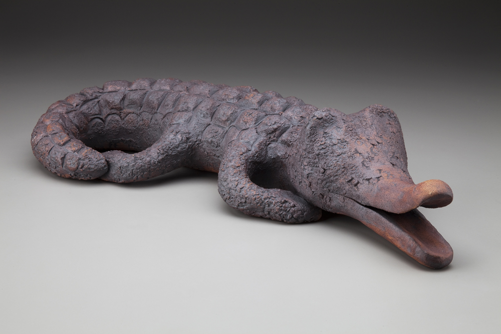 Crocodile  ceramic