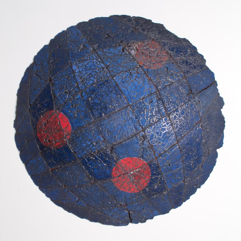 Untitled Swell #3 (Node Series) $800 ceramic 20.5 x 20.5 x 3.5