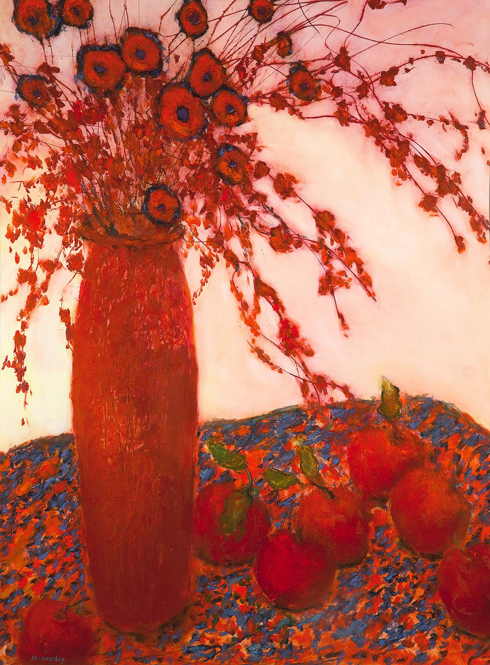Russets $2,600 oil pastel 37 x 31