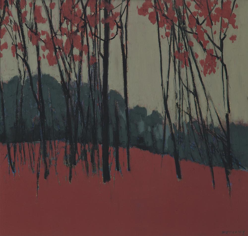 Tree Rhythms $1800 oilpastel 24 x 25