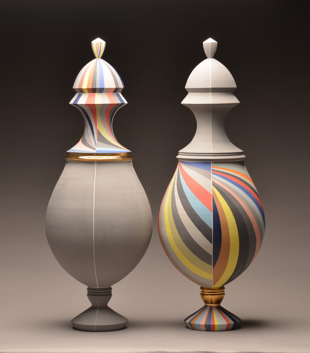 Urns by Peter Pincus