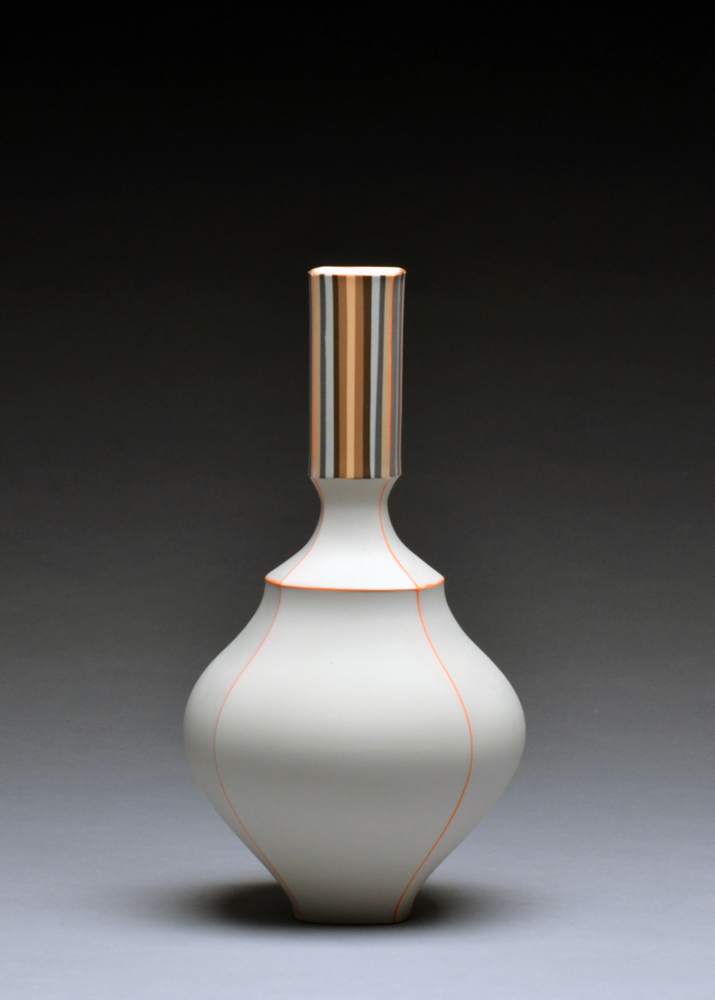Bottle SOLD  porcelain 11 x 6 x 6