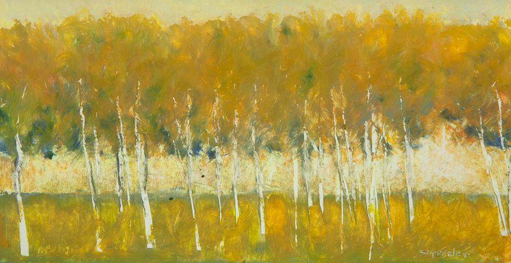 Colors of Autumn $800 oil pastel 12 x 17