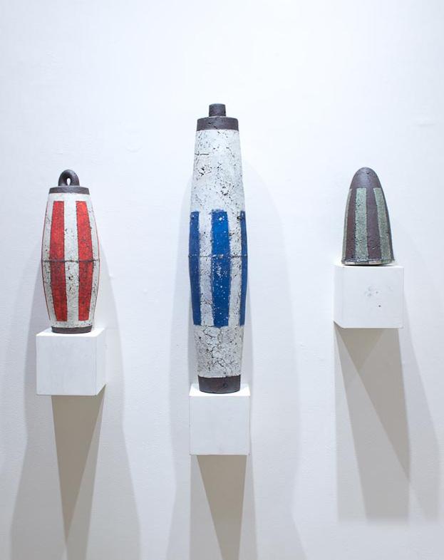 Curio Series -  L: 16.5 x 6 x 6 - $350 M: 29 x 6 x 6 - $400 R: 10 x 6 x 6 - $300   ceramic