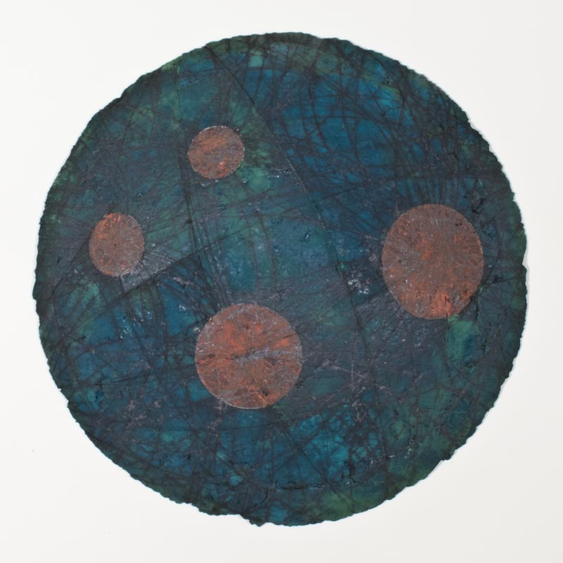 Untitled Swell #1 (Node Series) $800 ceramic 20.5 x 20.5 x 3.5