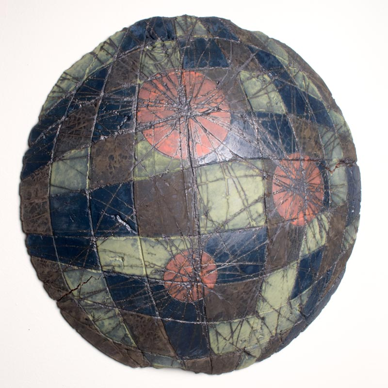 Untitled Swell #4 (Node Series) $800 ceramic 20.5 x 20.5 x 3.5