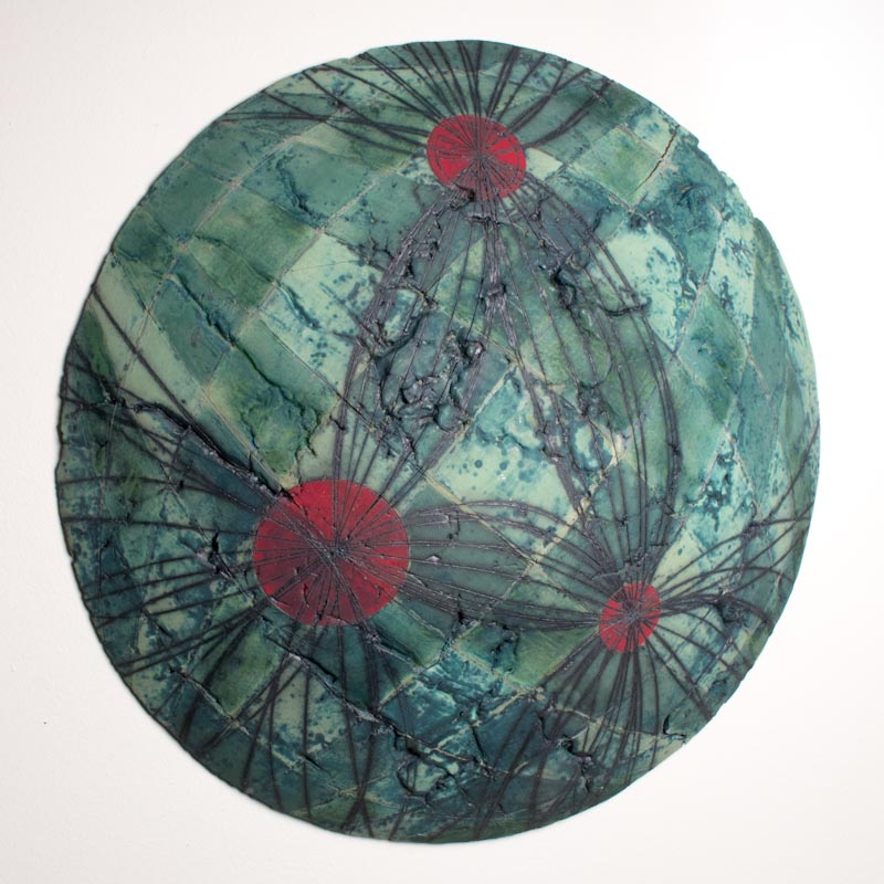 Untitled Swell #5 (Node Series) $800 ceramic 20.5 x 20.5 x 3.5