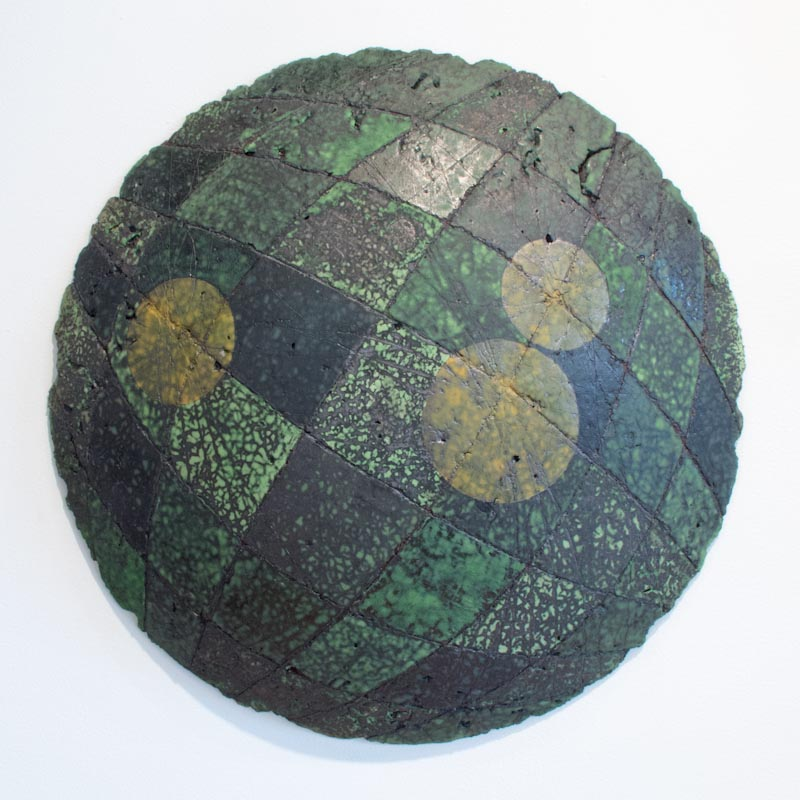 Untitled Swell #7 (Node Series) $800 ceramic 20.5 x 20.5 x 3.5