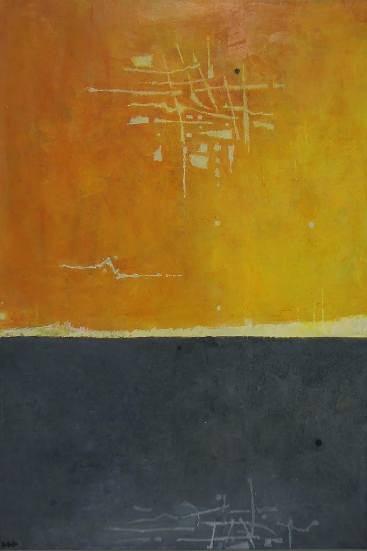 ELUSIVE ECHO SOLD  acrylic on panel 36 x 24