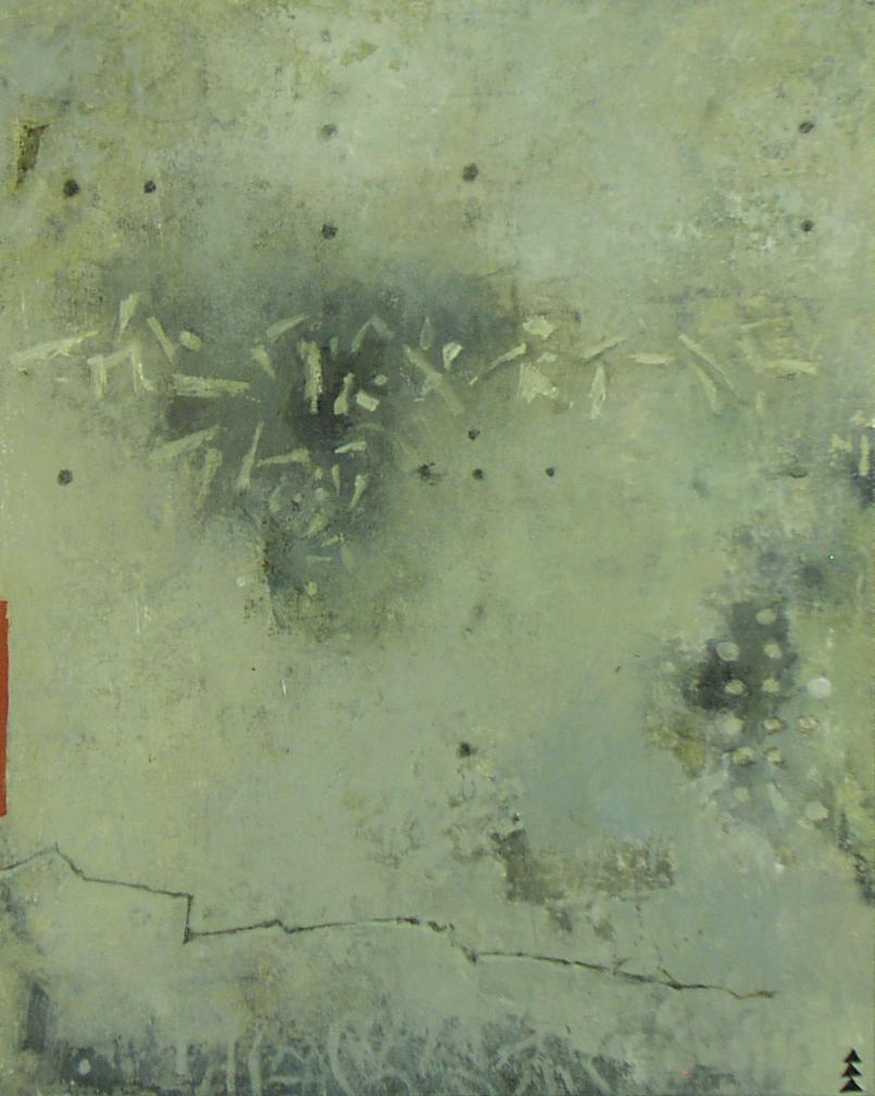 OSTRACON VIII $900  acrylic on panel 20 x 16