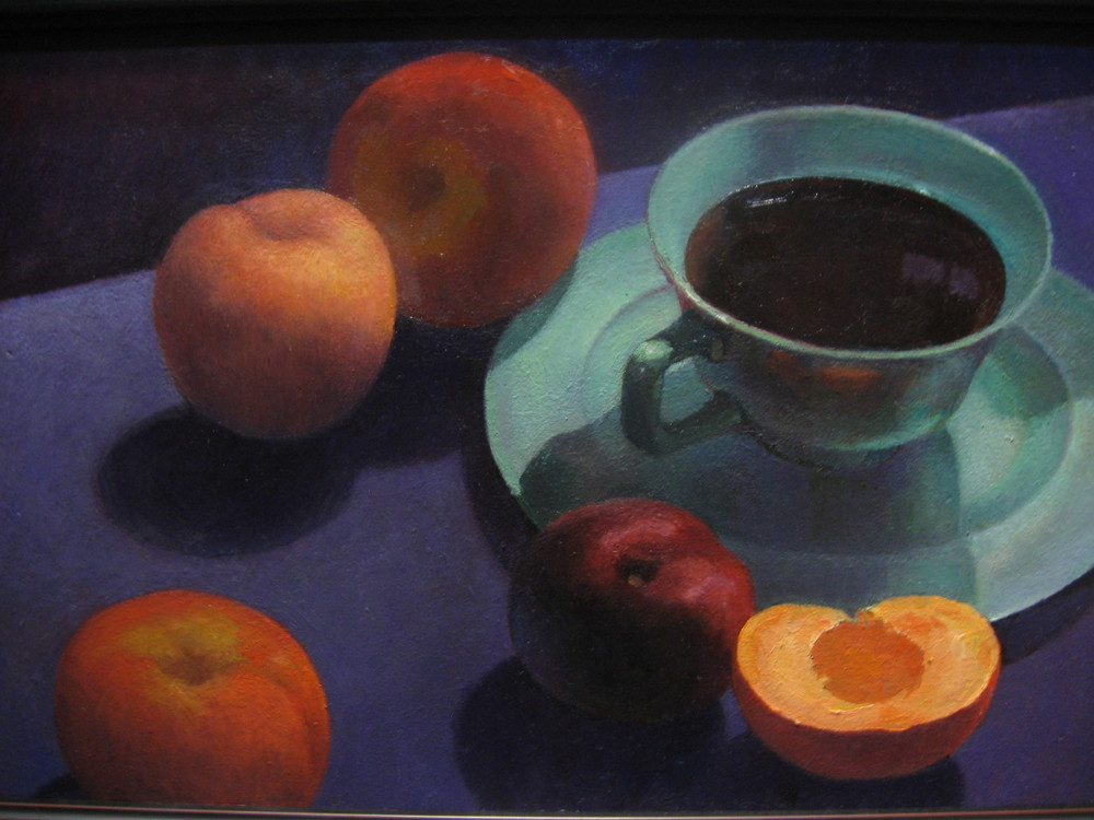 Still life Nocturne SOLD oil on canvas