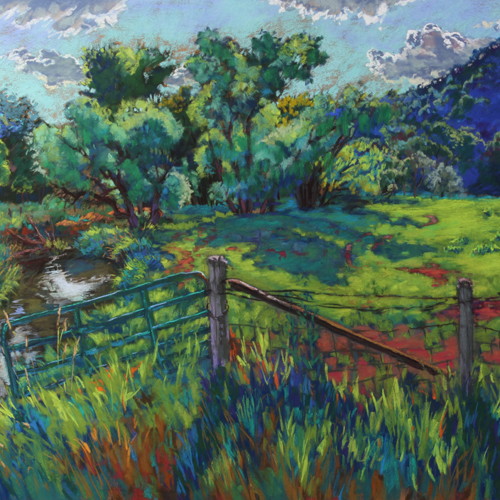 Angler's Lair - John Ribble John Ribble: A Good Drive Spoiled  Madison artist, Ribble, is dedicated to recording the vanishing landscape of rural southwest Wisconsin. Working en plein air, his work retains a spontaneous and authentic connection to the land.