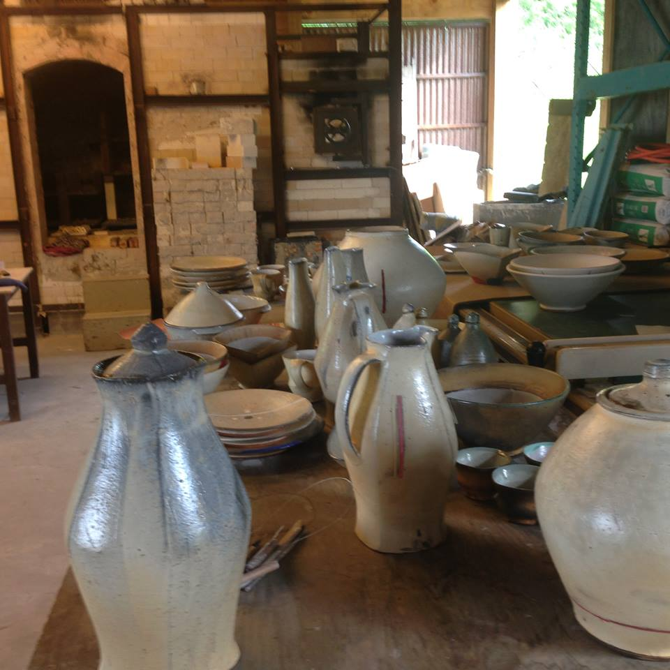 Tom's Work at Eureka Pots