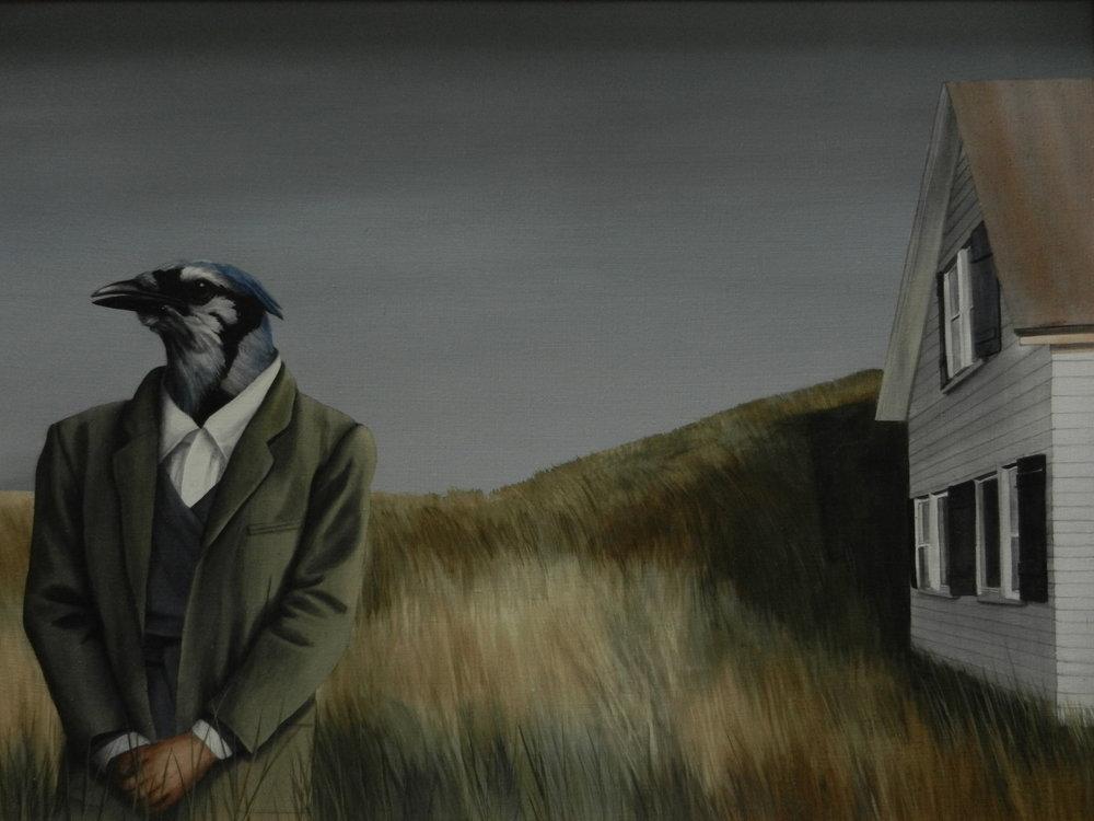 Edward Hopper's Blue Jay