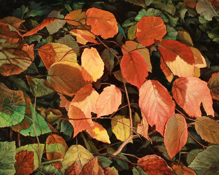 Blood Orange Shadows