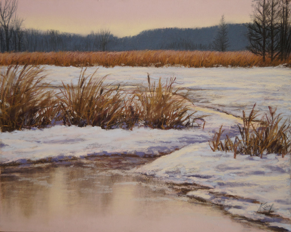 Kay Brathol Hostvet - Marsh Sunrise