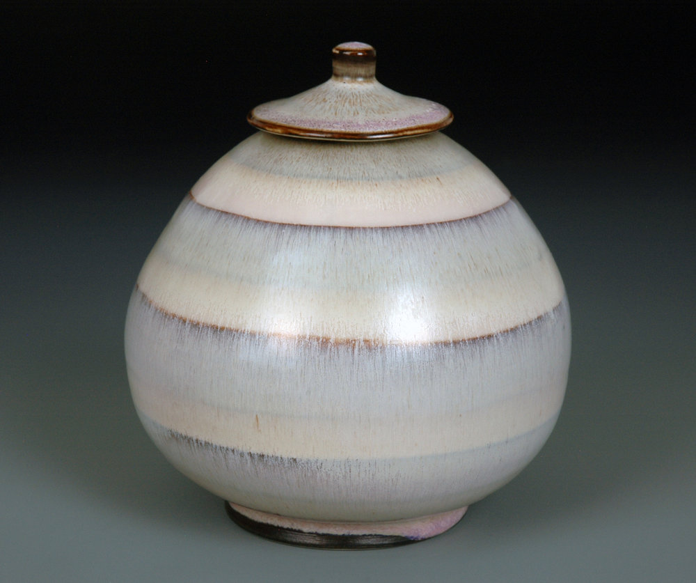 Covered Jar - SOLD  ceramic