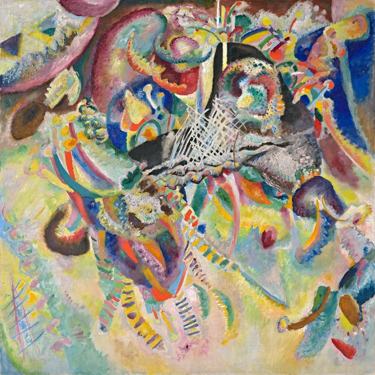 Wassily Kandinsky Fuga (Fugue), 1914 Oil on canvas, 51 x 51 Copyright Fondation Beyeler, Riechen/Basel, Beyeler Collection