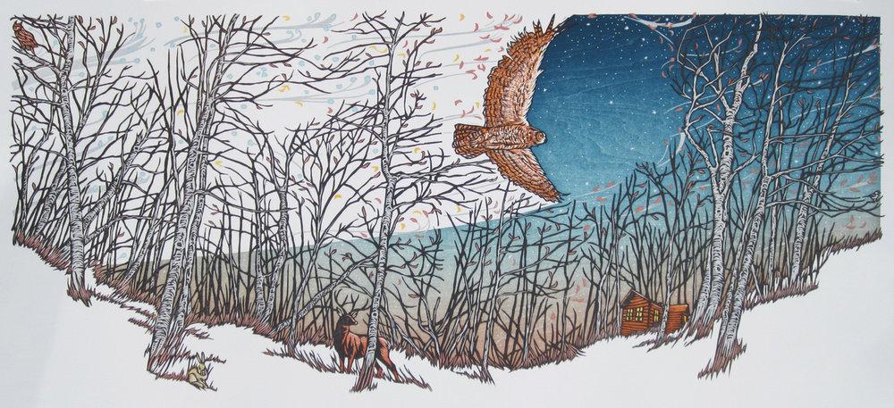 "Nick Wroblewski - ""Hush Hush, Forest"""