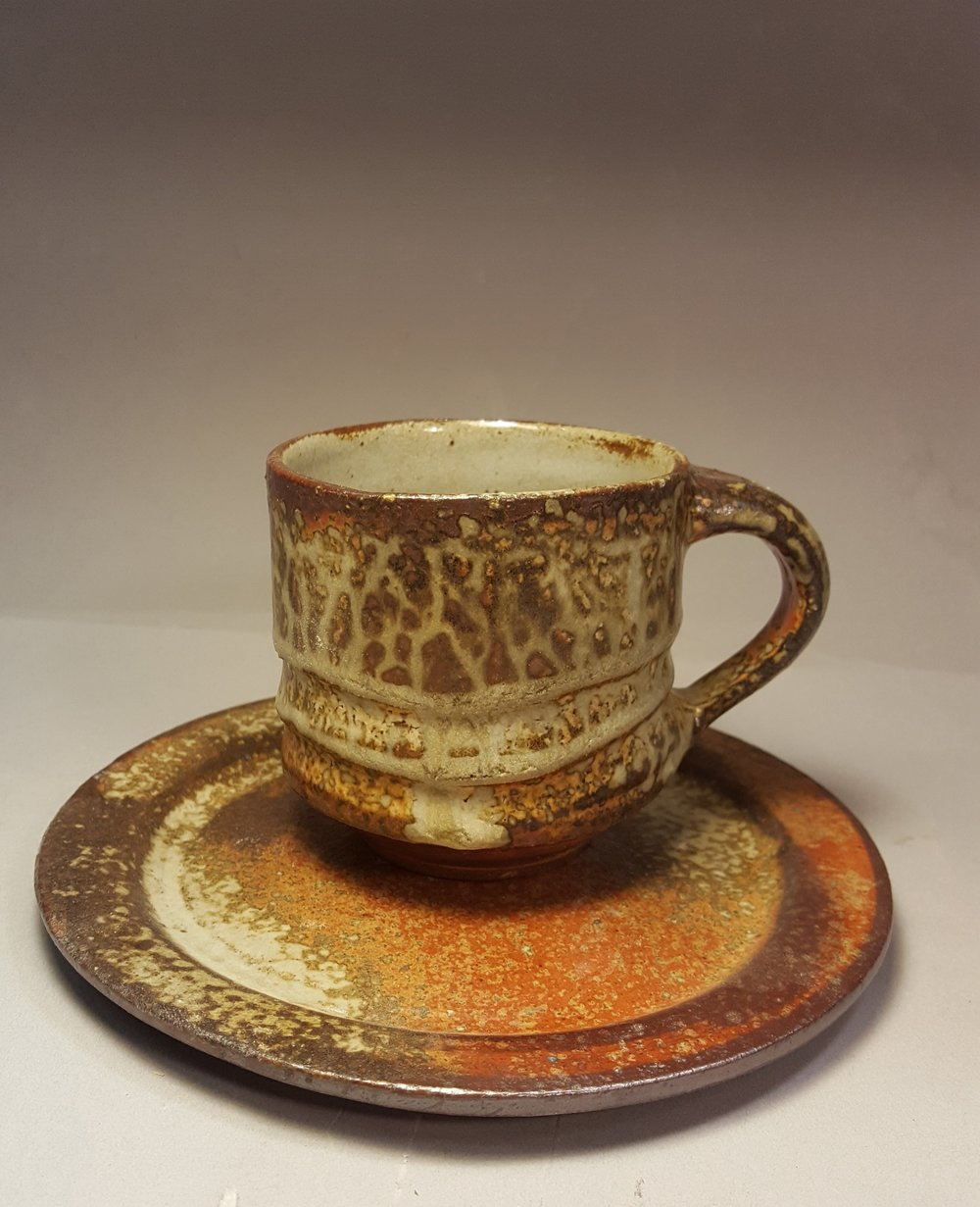 George Lowe - Cup and Saucer