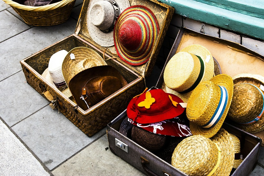 love this idea of displaying hats! photo credit: lucianvick/pixabay