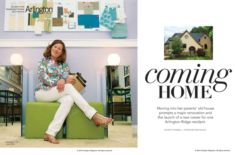 Arlington Magazine, Sept/Oct 2014  (Photos by Sean Kelley; Story by Kim O'Connell)