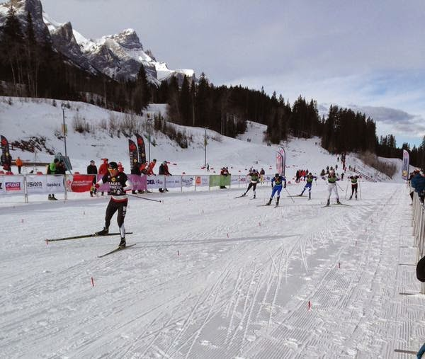 Skiing to my first NorAm victory of the season and first EVER NorAm sprint win this past weekend in Canmore.