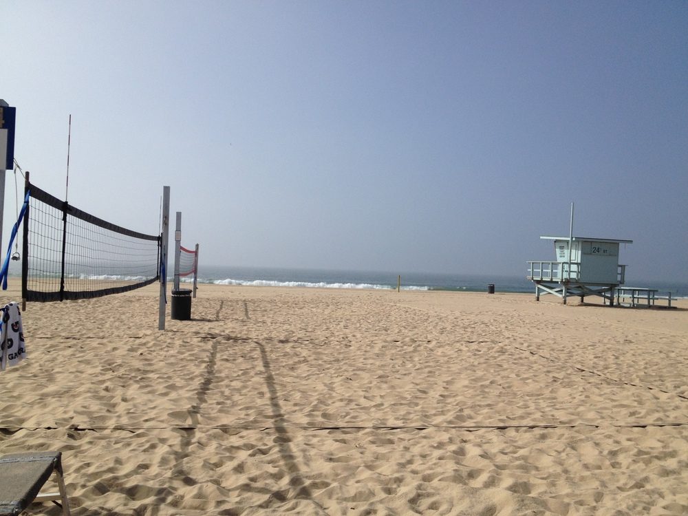 Our training court. It doesn't get much better than this!